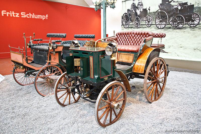 Автомузей; Национальный музей автомобилей, Мюлуз (Mulhouse), Франция;